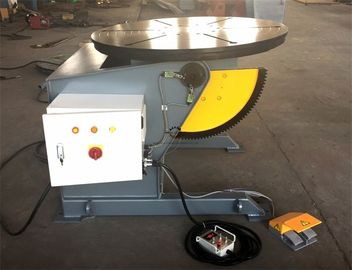 Rotary Table Welding Positioner 0-120dgr tilt 1300mm Dia Precision Gearbox